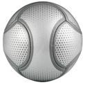 Ball bedruckt
