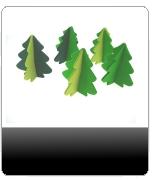 filz, artikel, weihnachtsbaum, tanne, baum, bedruckt, werbe, filz artikel