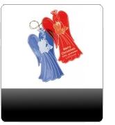 anhänger werbe werbeanhänger werbeartikel werbemittel anhänger mit druck engel weihnachtsanhänger werbeweihnachtsanhänger